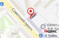 Схема проезда до компании КБ Ренессанс Кредит в Череповце