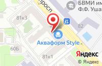 Схема проезда до компании Бинбанк в Череповце
