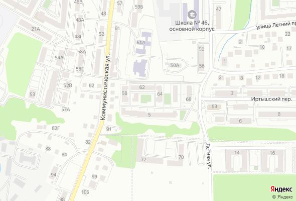 жилой комплекс по ул. Летняя - ул. Коммунистическая
