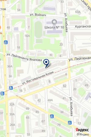 МАГАЗИН ДЕТСКИХ ТОВАРОВ ЧОЛЛИНО на карте Калининграда