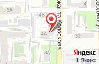 Схема проезда до компании Теплостройимпорт в Калининграде