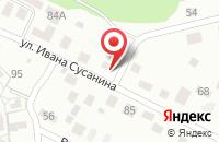 Схема проезда до компании Инпарк в Калининграде