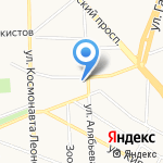Сабай-Ди на карте Калининграда