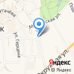 Калининградская областная организация инвалидов на карте Зеленоградска