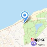 Бесплатный общественный туалет на карте Зеленоградска