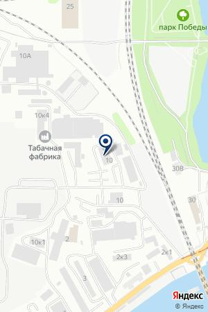 ТОРГОВО-ЗАКУПОЧНАЯ ПОДКОВА на карте Калининграда