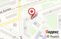 Схема проезда до компании Формула строительства в Калининграде