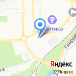 Навигатор на карте Калининграда