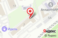 Схема проезда до компании Ксил Калининград в Калининграде
