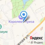 Советский на карте Зеленоградска