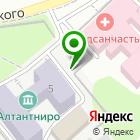 Местоположение компании Проект