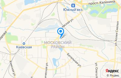 Местоположение на карте пункта техосмотра по адресу г Калининград, туп Тихорецкий