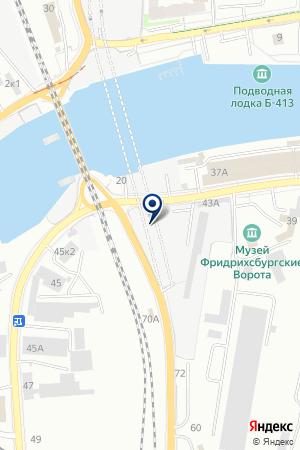 ФИРМА ЭНЕРГОЗАЩИТА на карте Калининграда