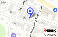 Схема проезда до компании ПРОДОВОЛЬСТВЕННЫЙ МАГАЗИН ДЕНЬ И НОЧЬ в Калининграде