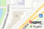 Схема проезда до компании Колесо в Калининграде