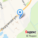 Продуктовый магазин на карте Зеленоградска