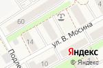 Схема проезда до компании МПК в Зеленоградске