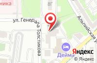Схема проезда до компании Ритус-Плюс в Калининграде