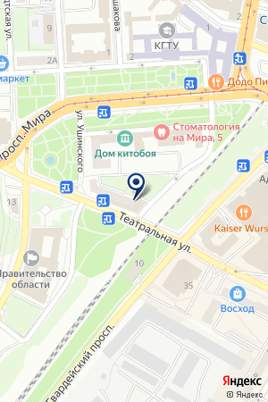 ТОРГОВАЯ КОМПАНИЯ КАРВЕОН на карте Калининграда