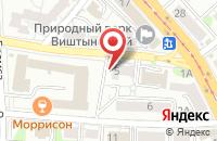 Схема проезда до компании Магазин молодежной одежды в Калининграде