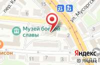 Схема проезда до компании Риагрузтранс в Калининграде