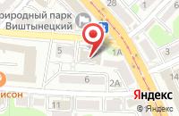 Схема проезда до компании Бизнес-Балтика в Калининграде