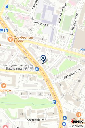 САЛОН КРАСОТЫ УНИЯ на карте Калининграда