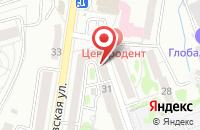 Схема проезда до компании Геррос в Калининграде