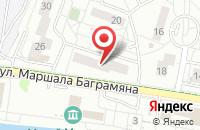 Схема проезда до компании Мегапринт в Калининграде