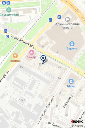ТФ ФАРМА-ПОЛ на карте Калининграда