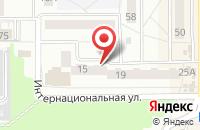 Схема проезда до компании Статус в Калининграде