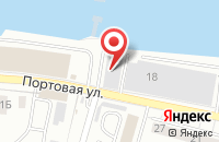 Схема проезда до компании Союзконтракт в Калининграде