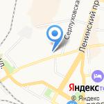 Лисен на карте Калининграда
