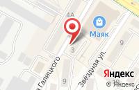 Схема проезда до компании Дракон в Калининграде