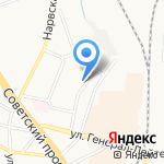 Бюро медико-социальной экспертизы №7 на карте Калининграда