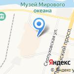 ТехноHouse на карте Калининграда