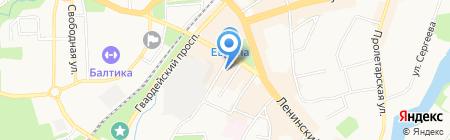 Идеальный дом на карте Калининграда
