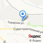 Василек на карте Калининграда