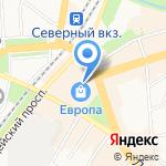 Kolibri на карте Калининграда