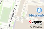 Схема проезда до компании Оптовый магазин в Калининграде