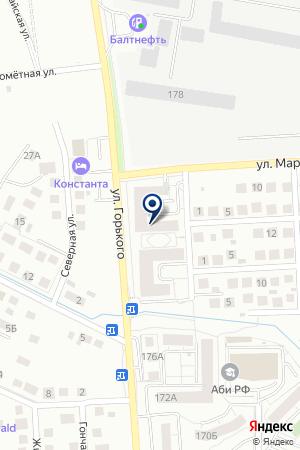 Пикап Автозапчасти на карте Калининграда