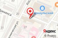 Схема проезда до компании Массмаркет в Калининграде