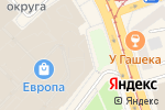 Схема проезда до компании Clarks в Калининграде