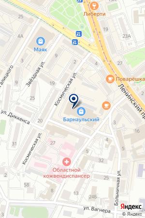 МАГАЗИН КАНЦТОВАРОВ ВЕРЖЕ на карте Калининграда