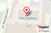 Схема проезда до компании Dr.Nona в Калининграде