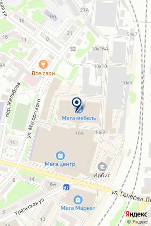 ПРОИЗВОДСТВЕННОЕ ПРЕДПРИЯТИЕ ТЕЛЕМИГ на карте Калининграда