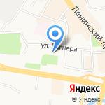 Поликлиника на карте Калининграда