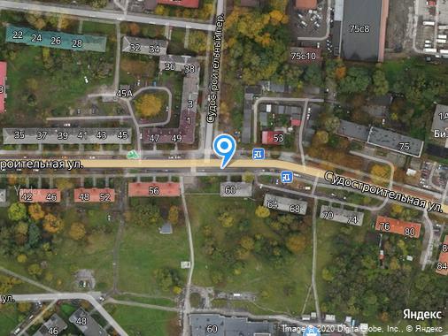 Сдаю 2-комнатную квартиру, 53 м², Калининград, улица Судостроительная