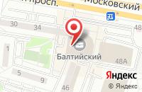 Схема проезда до компании Мы Строим Дом в Калининграде