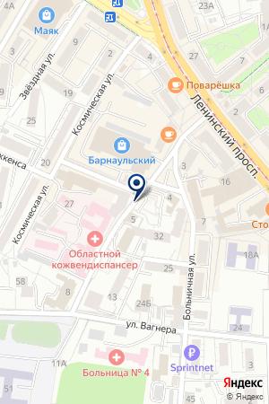 КАЛИНИНГРАДСКИЙ ФИЛИАЛ МОСКОВСКАЯ СТРАХОВАЯ КОМПАНИЯ на карте Калининграда